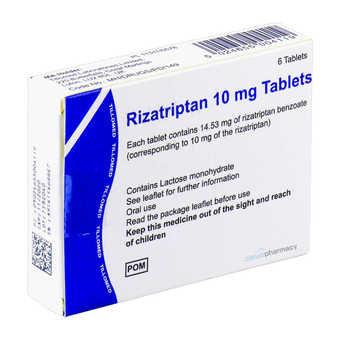 rizatriptan tablets 10mg buy online cloud pharmacy migraine treatment
